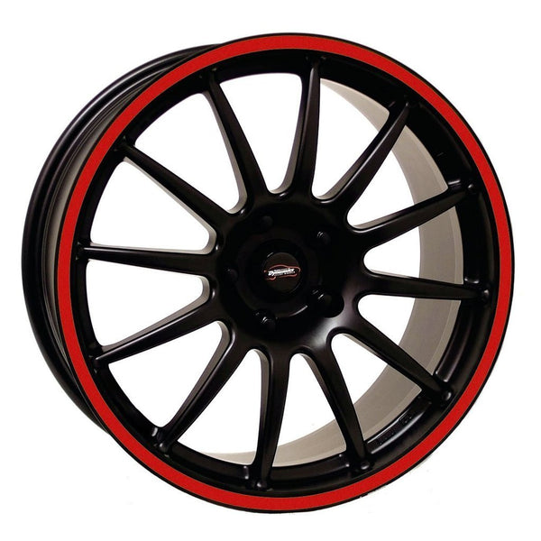 Wheel Rim Sticker Red