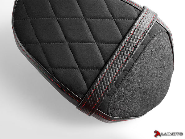 Luimoto Diamond Edition Passenger Seat Cover for Triumph Street Triple RS