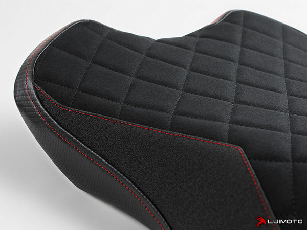 Luimoto Diamond Edition Rider Seat Cover for Triumph Street Triple RS
