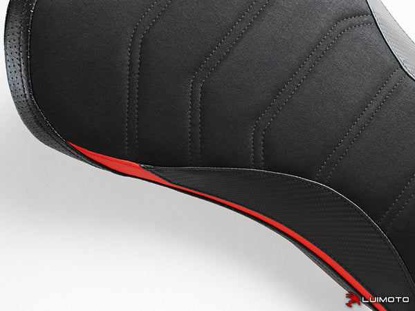 Luimoto R-Cafe Rider Seat Cover for Triumph Street Triple RS