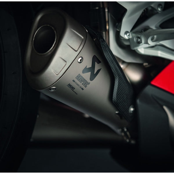 Akrapovic Titanium Full Race Exhaust for Ducati Panigale V4