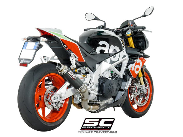 SC Project GP65 Slip-On Exhaust for Aprilia Tuono V4 1100 RR