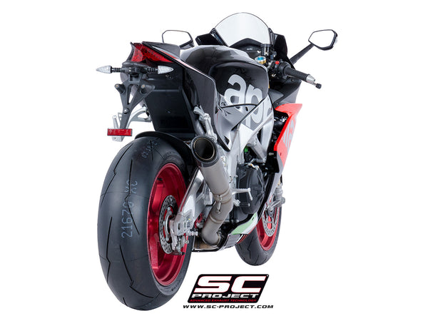 SC Project S1 High Position Slip-On Exhaust for Aprilia RSV4 RR