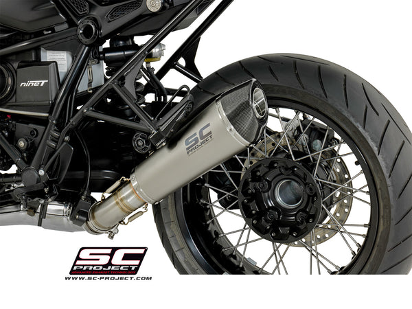 SC Project Conical Slip-On Exhaust for BMW R NineT