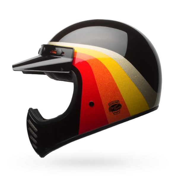 Bell Moto-3 Chemical Candy Black/Gold Helmet