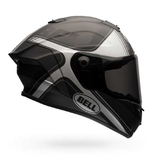 Bell Race Star Flex Tracer Matte Black/Grey Helmet