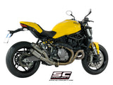 SC Project Twin GP70-R Slip-On Exhaust for Ducati Monster 821
