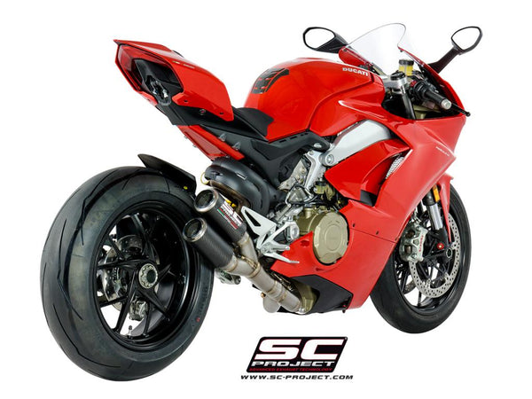 SC Project Twin CR-T Full Exhaust for Ducati Panigale V4S