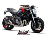 SC Project Full Exhaust System 2-1 for Ducati Monster 821