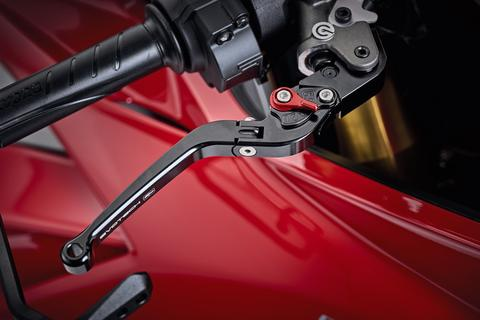 Evotech Performance Folding Clutch and Brake Lever Set for Ducati Panigale V4
