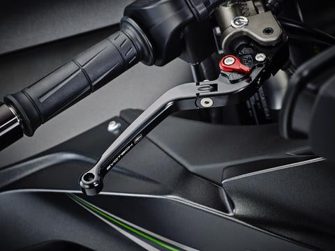 Evotech Performance Folding Clutch and Brake Lever Set for Kawasaki ZX-10R