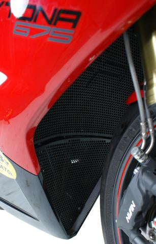 Evotech Performance Exhaust Header Protection for Triumph Daytona 675R