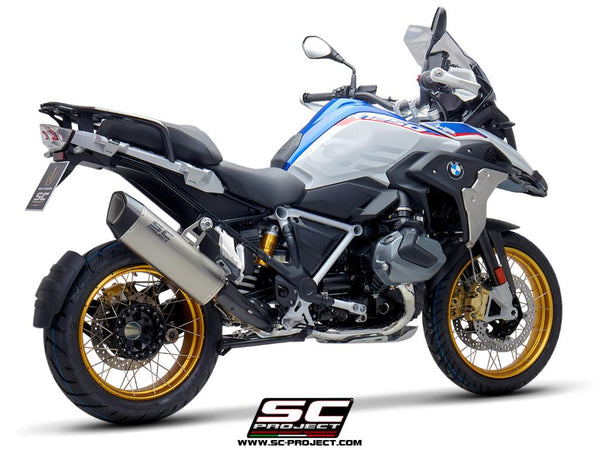 SC Project SC1-R GT Slip-On Exhaust for BMW R 1250 GS