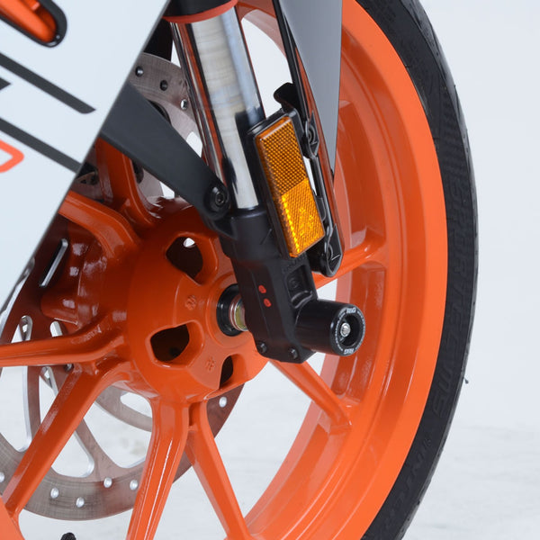 R&G Front Fork Protector for KTM Duke 125