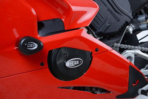 R&G Left Engine Case Cover for Ducati Panigale V4