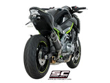 SC Project Oval Slip-On Exhaust for Kawasaki Z900