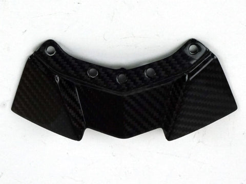 Motocomposites Small Under Seat Panel in Carbon with Fiberglass for Kawasaki Ninja H2