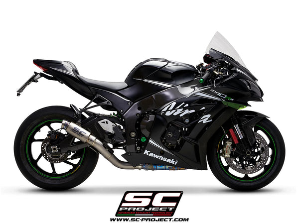 SC Project GP70-R Slip-On Exhaust for Kawasaki ZX-10R