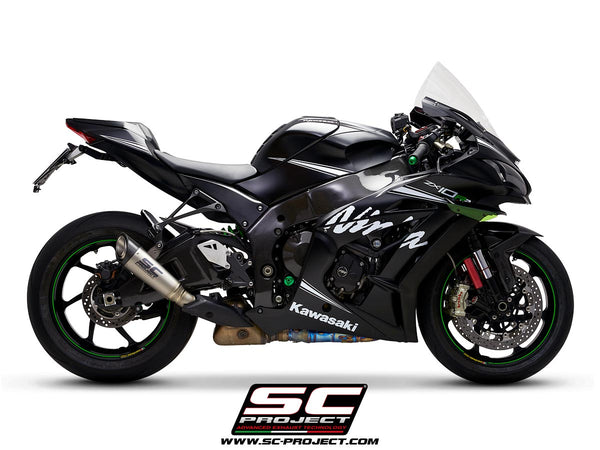 SC Project S1 Slip-On Exhaust for Kawasaki ZX-10RR
