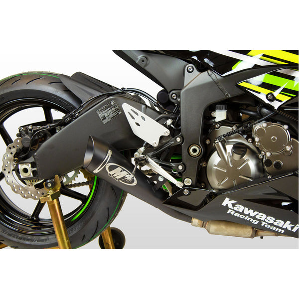 M4 GP Slip-On Exhaust for Kawasaki ZX-6R