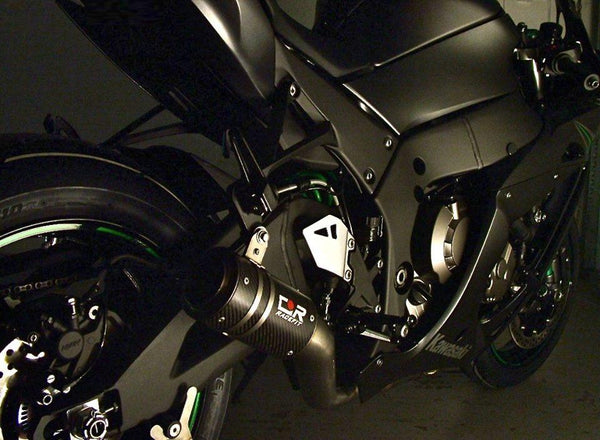 Racefit Growler Titanium Carbon Slip-On Exhaust for Kawasaki ZX-10R