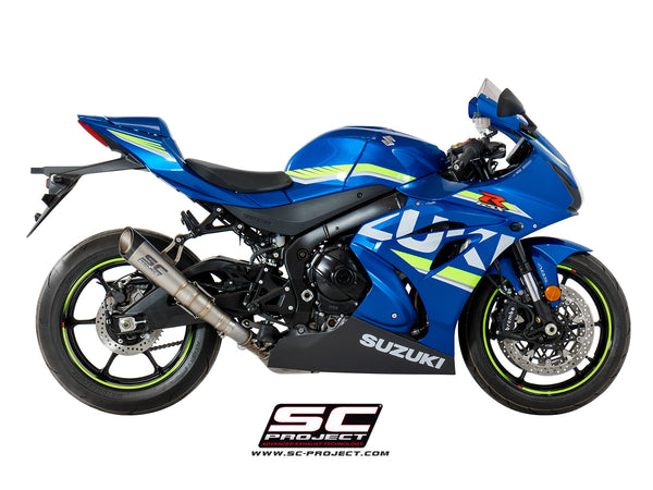 SC Project S1 Slip-On Exhaust for Suzuki GSXR 1000