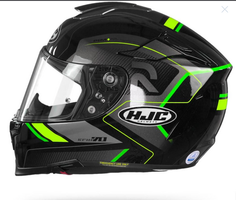 HJC RPHA 70 COPTIC MC4H BLACK GREY GREEN Helmet