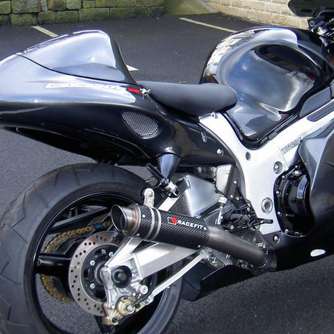 Racefit Slip-On Exhaust for Suzuki Hayabusa