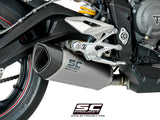 SC Project SC1-R Slip-On Exhaust for Triumph Street Triple RS