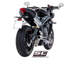 SC Project CR-T Slip-On Exhaust for Triumph Street Triple RS