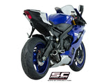 SC Project Low Position CR-T Slip-On Exhaust for Yamaha R6
