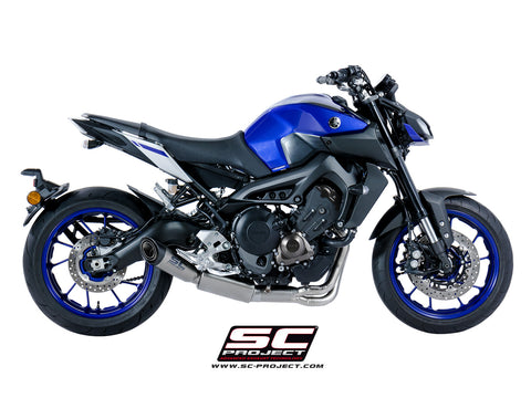 Yoshimura R77 Works Race Full Exhaust System for Yamaha MT