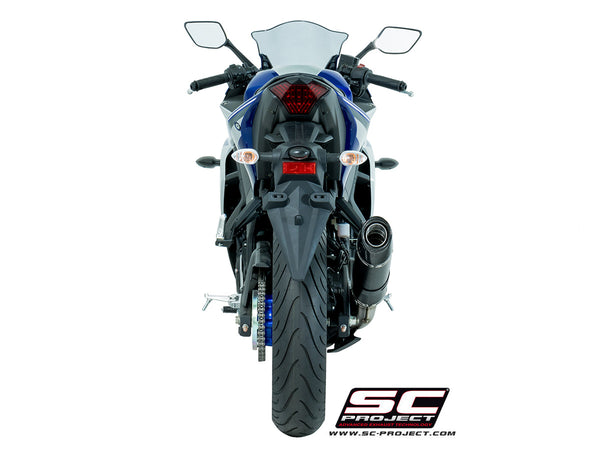 SC Project Oval Slip-On Exhaust for Yamaha R3