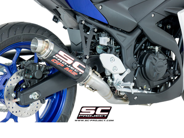 SC Project GP-M2 Full Exhaust System for Yamaha R3