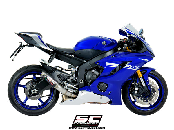 SC Project GP70-R Slip-On Exhaust for Yamaha R6