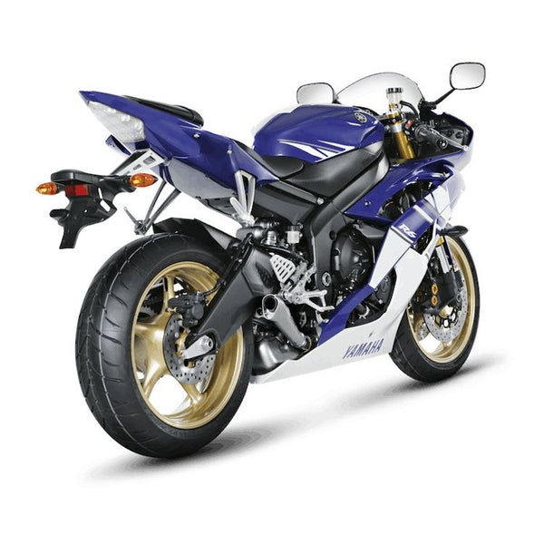 Akrapovic Megaphone Slip-On Exhaust for Yamaha R6