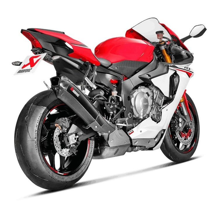 Buy Akrapovic Slip-On Exhaust for Yamaha R1 Online in India