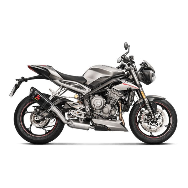 Akrapovic Slip-On Exhaust for Triumph Street Triple RS