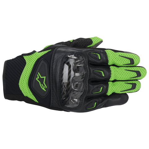 Alpinestars SMX 2 Air Carbon Gloves - Green/Black
