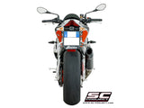 SC Project Oval Slip-On Exhaust for Aprilia Tuono V4 1100 RR