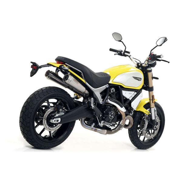 Arrow Pro-Race Slip-On Exhaust for Ducati Scrambler 1100