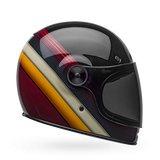 Bell Bullitt Burnout Gloss Black/White/Maroon Helmet