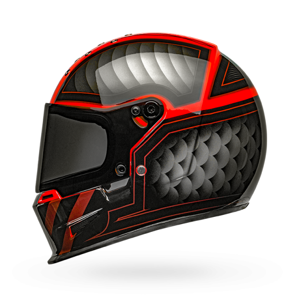 Bell Eliminator Outlaw Gloss Black/Red Helmet
