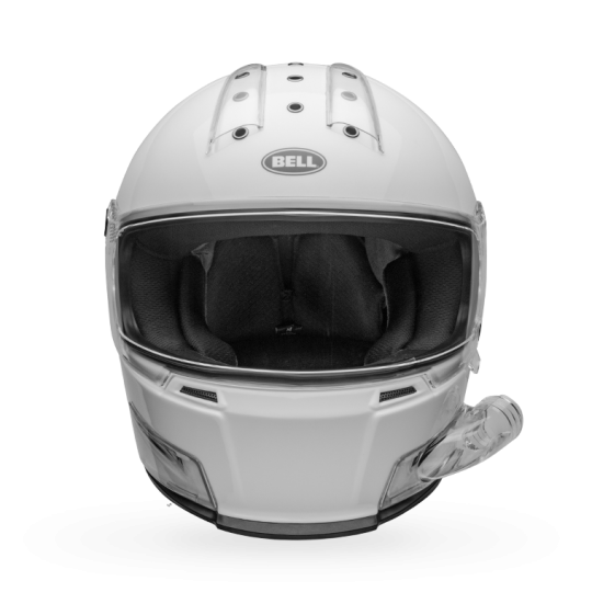 Bell Eliminator Forced Air Gloss White Helmet