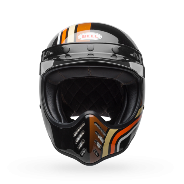 Bell Moto-3 Stripes Black/Orange Helmet