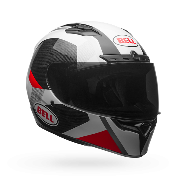 Bell Qualifier DLX Mips-Equipped Accelerator Red/Black Helmet