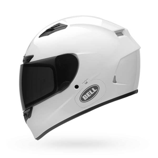 Bell Qualifier DLX Solid White Helmet