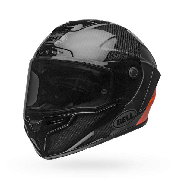 Bell Race Star Flex Lux Matte/Gloss Black/Orange Helmet