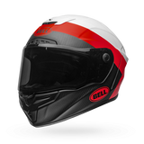 Bell Race Star Flex Surge Matte/Gloss White/Red Helmet