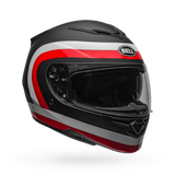 Bell RS-2 Crave Matte/Gloss Black/White/Red Helmet